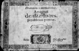 French assignat-dix livres currency