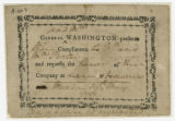 Invitation : General and Mrs. Washington to Mr. and Mrs. [Thomas] Porter, 1788 May 18