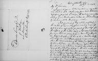 Letter, Arlington House, to Lorenzo Lewis Esq. of Audley, near Berryville, Clarke County, Virginia, 20 June 1846